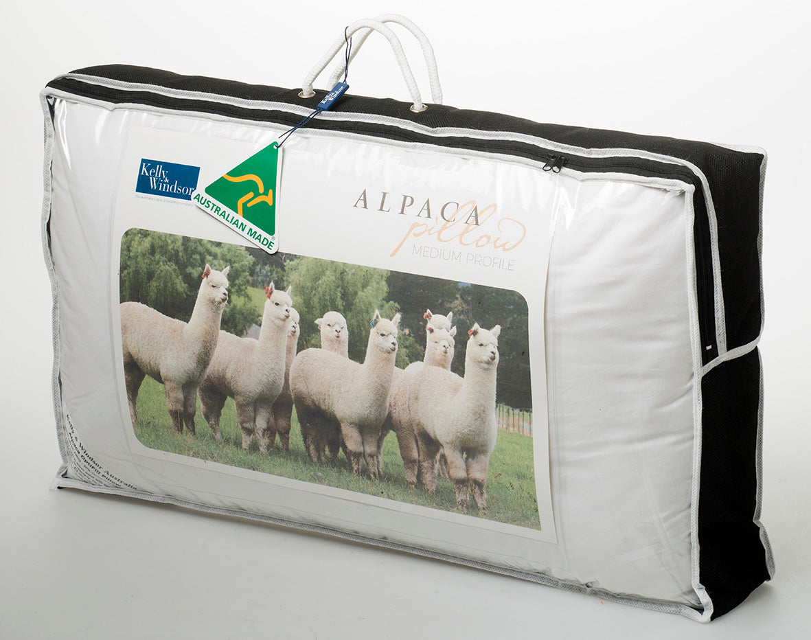 Alpaca Classic Pillow | Kelly and Windsor Australian Alpaca Quilts