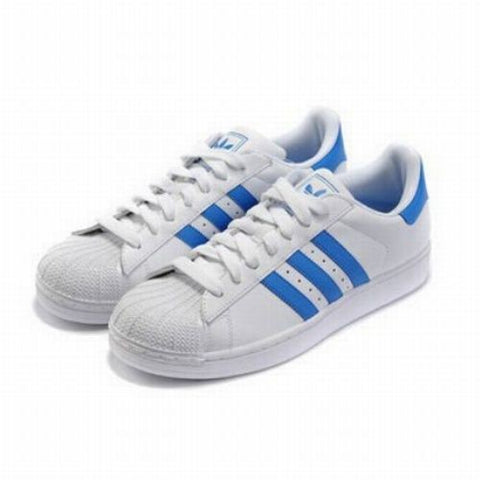 ADIDAS SUPERSTAR CELESTE / BLANCO
