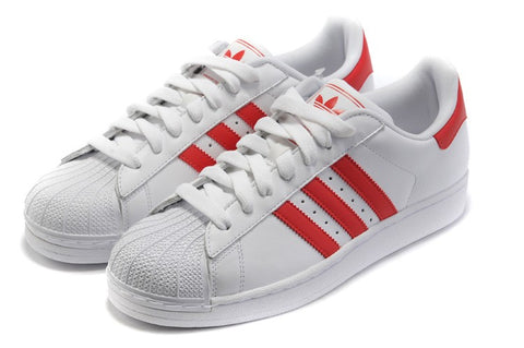 ADIDAS SUPERSTAR ROJO / BLANCO