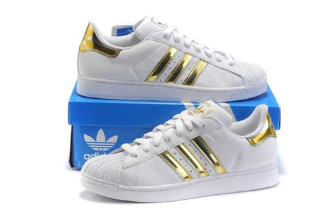 Adidas SuperStar Oro/Blanco