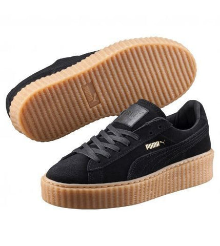 PUMA CREEPER BY RIHANA NEGRO / MARRON