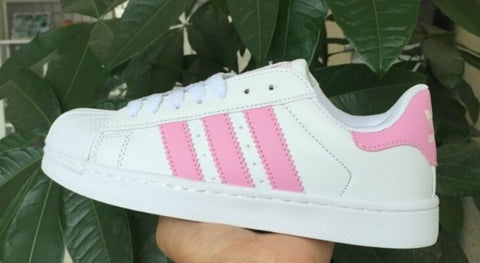 ADIDAS SUPERSTAR ROSA / BLANCO