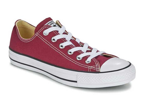 CONVERSE ALL STAR BAJAS GRANATE