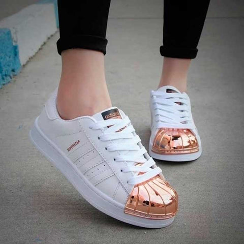 ADIDAS SUPER ALL STAR COLORFUL BLANCO / ROSE GOLD