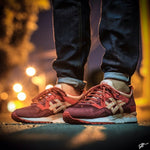 ASICS GEL LYTE- GRANATE