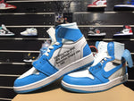 Nike Air Jordan 1 Blue x OFF WHITE