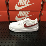 NIKE AIR FORCE 1 WHITE/RED