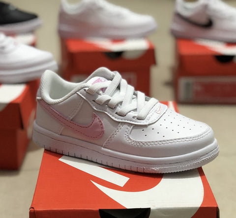 NIKE AIR FORCE 1 WHITE/PINK