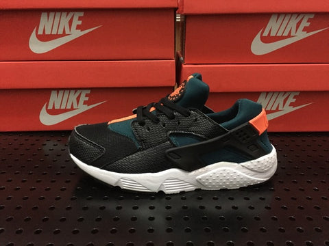 NIKE AIR HUARACHE GREEN/ORANGE