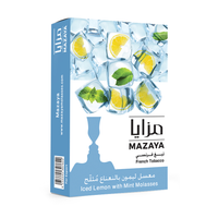 Mazaya Shisha Tobacco Iced Lemon with Mint - - Shishamore.com