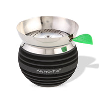 AOT Hookah Bowl with Screen - Black - Shishamore.com