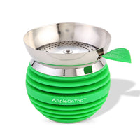 AOT Hookah Bowl with Screen - Green - Shishamore.com