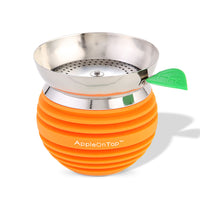 AOT Hookah Bowl with Screen - Orange - Shishamore.com