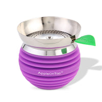 AOT Hookah Bowl with Screen - Purple - Shishamore.com