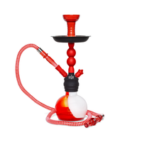 Amira Storm Hookah - Red on Red - Shishamore.com