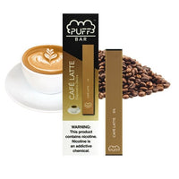 Puff Bar Disposable Vape Cafe Latte - - Shishamore.com