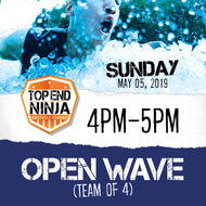 Sunday 5th: 4pm-5pm (OPEN WAVE)