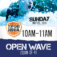 Sunday 5th: 10am-11am (OPEN WAVE)