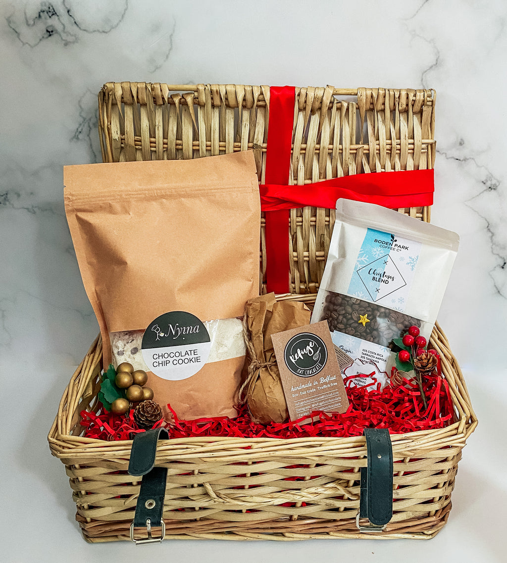 Pre Order For Nov & Dec Delivery: Christmas Hamper With Chocolate Chip Cookie Baking Mix