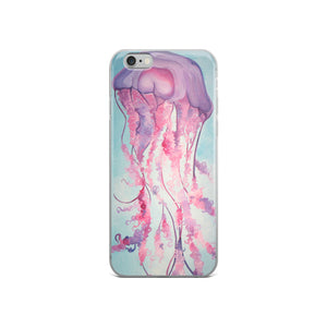 Purple Jelly iPhone Case