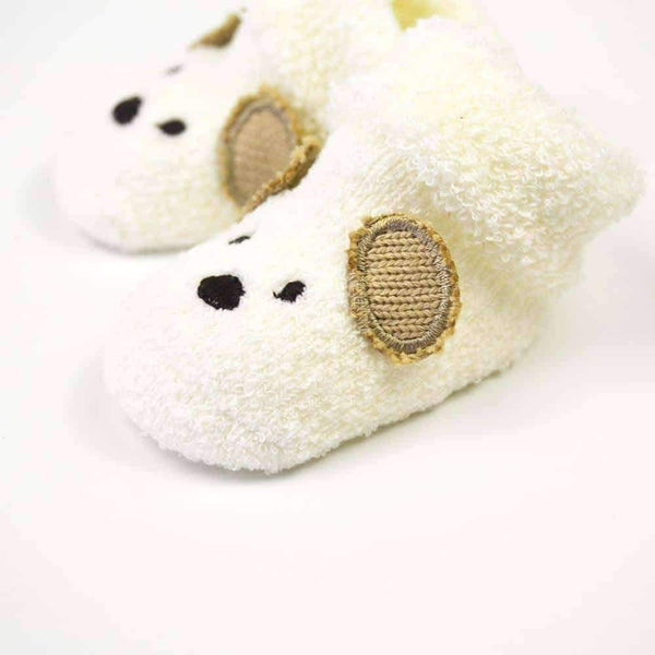 leggycozy Baby Socks [leggycozy] High Quality Unisex Cute Cartoon Bear Toddler Baby Socks 0 -3 Month