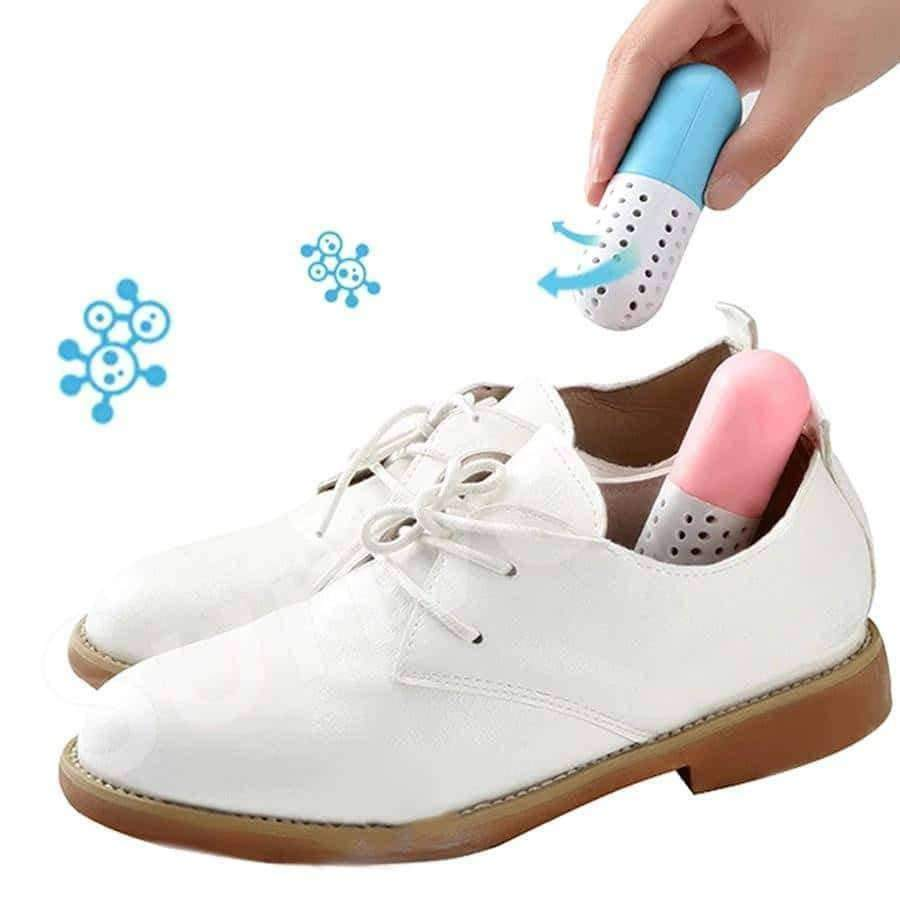[leggycozy] (2 Pcs/Set) Shoes Deodorant Capsule Desiccant for Bacteria & Odor