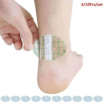 [leggycozy] (4Pcs 10Pcs/Set) Adhesive Gel Blister Plaster Anti-Wearing Heel Stickers