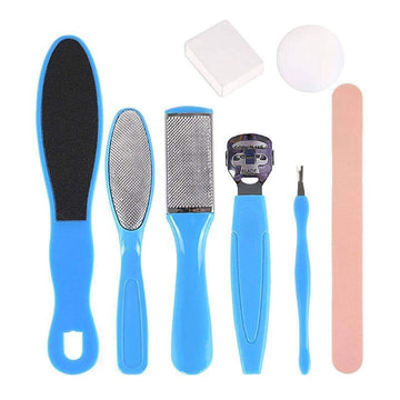 [leggycozy] 8 In 1 Professional Pedicure Tool Kit