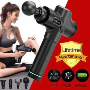 [leggycozy] Body Muscle Therapy Gun Massage Machine for Pain Relief /Body Shaping /Muscle Relax