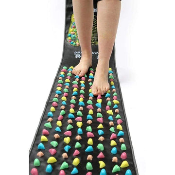 [leggycozy] Chinese Reflexology Colorful Plastic Foot Massage Pad