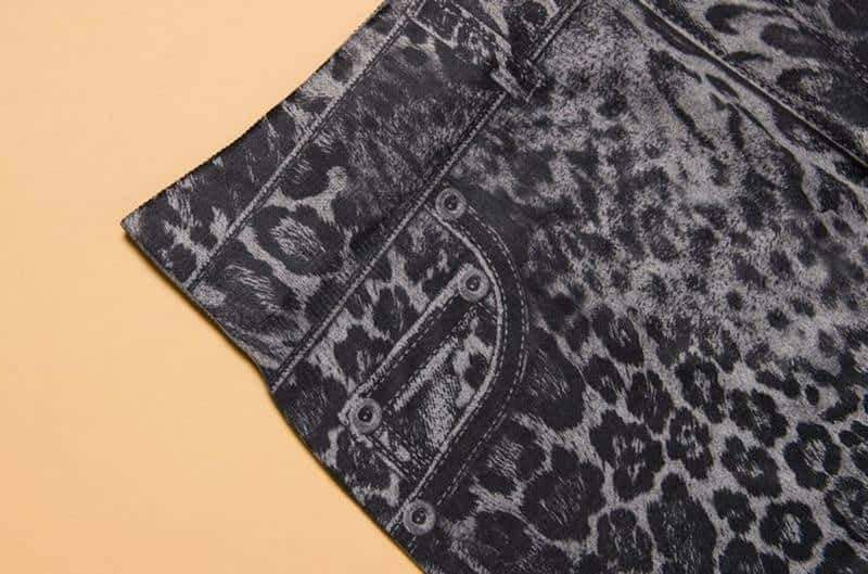 [leggycozy] Casual Jeans & Leopard Pattern High Waist Leggings