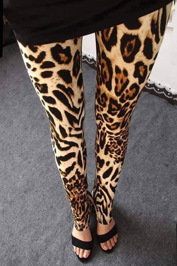 [leggycozy] Fashion Leopard Pattern Leggings