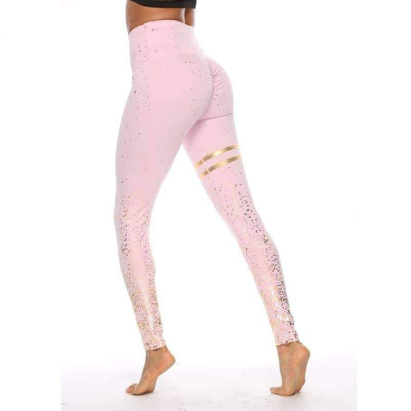 leggycozy Leggings [leggycozy] Fashion Patchwork Stamping Printing High Waist Skinny Leggings