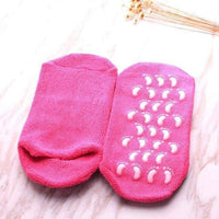 leggycozy [leggycozy] Candy Color Cotton Rubber Soled Socks