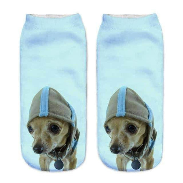 leggycozy [leggycozy] Cute Little Puppy Low Cut Ankle Sock