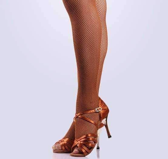 leggycozy [leggycozy] Hard & Dense Fishnet Latin Dance Stockings