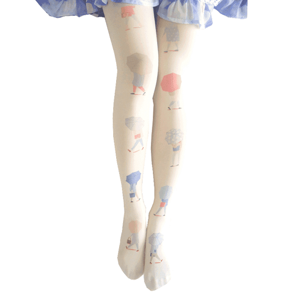 leggycozy [leggycozy] Japanese Cute Fashion Silk Matte Velvet Pantyhose Stockings