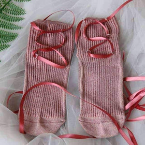 Open image in slideshow, [leggycozy] Japanese Sweet Soft Bow Tie socks