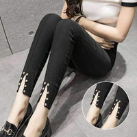leggycozy [leggycozy] Laced Cute Warmer Leggins