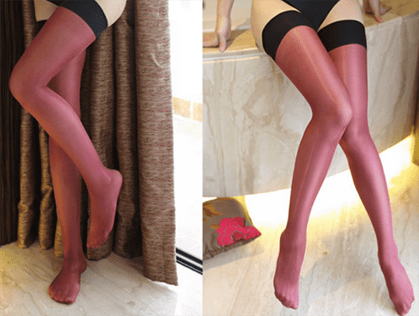 leggycozy [leggycozy] Multi-Color Shiny Glitter Thigh High Stockings