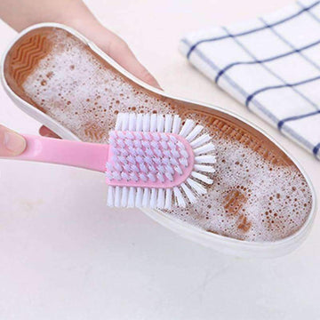 [leggycozy] Multi-Faceted Shoe Washing Brush