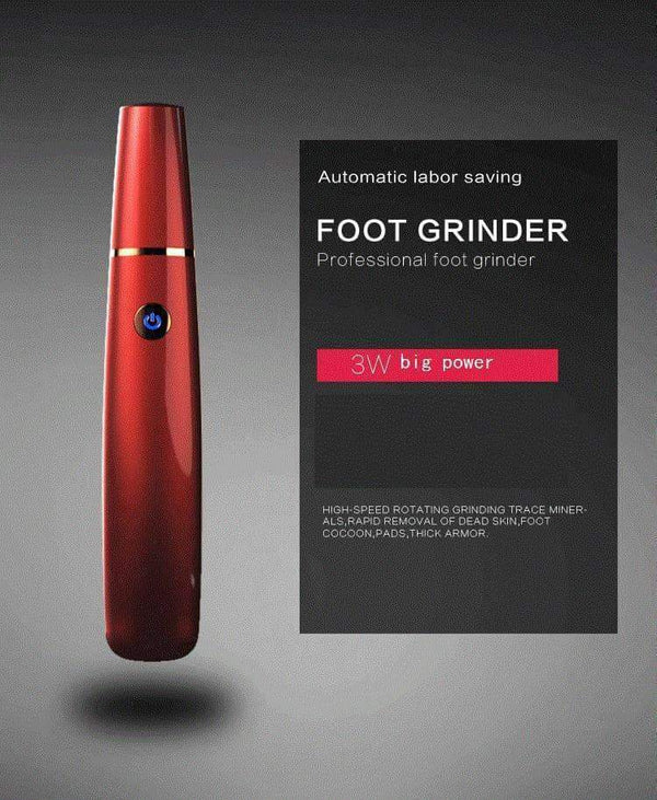 leggycozy [leggycozy] USB Rechargeable High Speed Foot Grinder For Dead Skin Removal