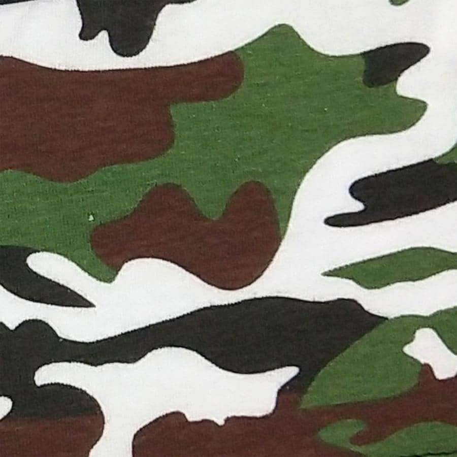 [leggycozy] (4Pcs/Lot) Sexy Camouflage Pattern Cotton Boyshorts Panties