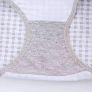 [leggycozy] (4pcs/Set) Cute Rabbit Bow-Knot Cotton Panties
