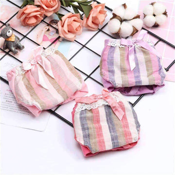 [leggycozy] High Quality Cotton Low Waist Cozy Panties with Bow Knot