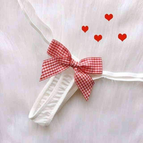 leggycozy Panties [leggycozy] Kawaii Bow-Tie G-Strings Thong Panties