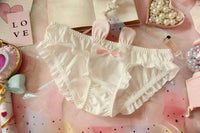 leggycozy Panties [leggycozy] Lovely & Cute Kawaii Bunny Rabbits 3D Eared Bow-Knot Ruffle Panties