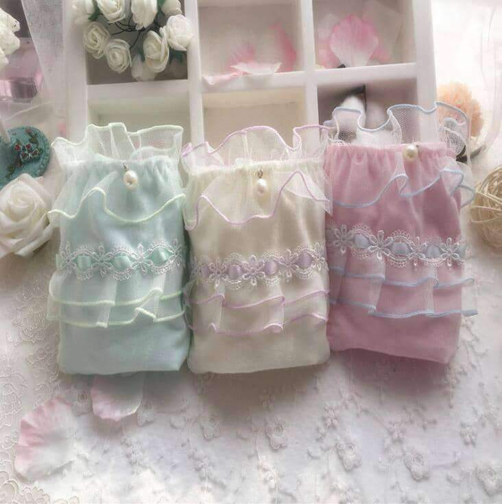 [leggycozy] Lovely & Cute Kawaii Fancy Ruffle Cotton Princess Panties