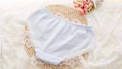 leggycozy Panties [leggycozy] Lovely & Cute Ruffle Cotton Laced Panties