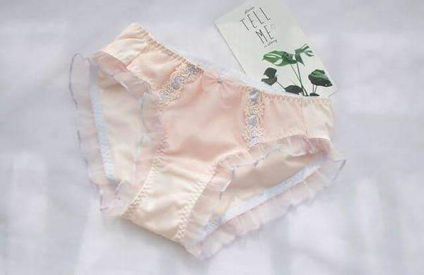 leggycozy Panties [leggycozy] Lovely Cute Ruffle Shining Top Quality Panties